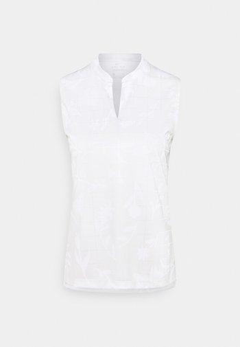 W NK BRTH SL  - Sports shirt - photon dust/white