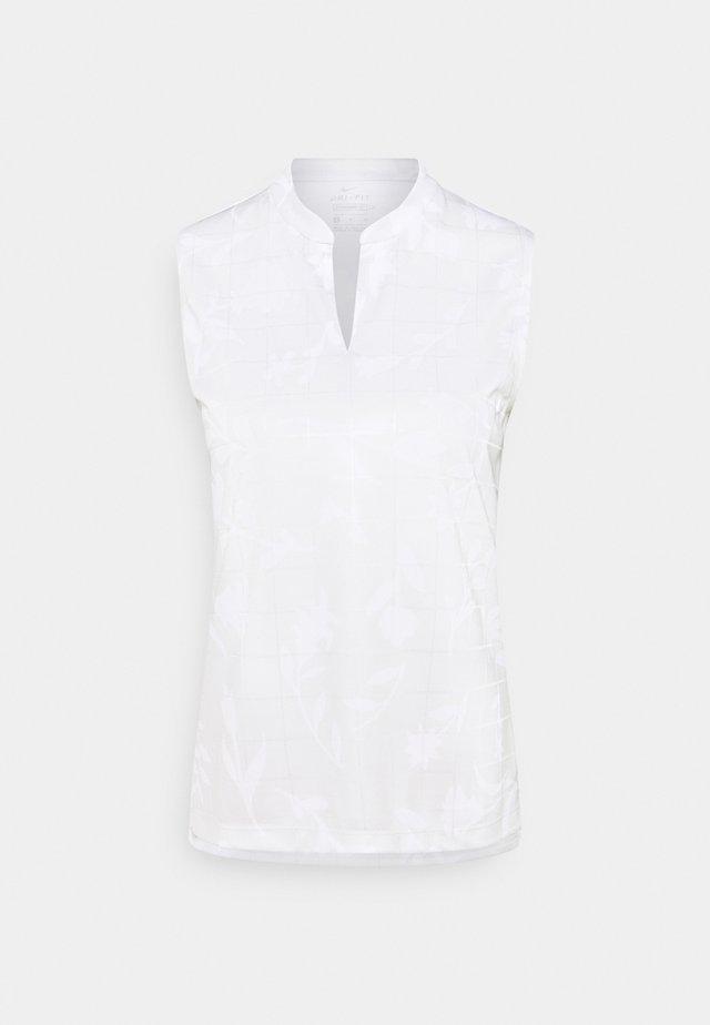 W NK BRTH SL  - Treningsskjorter - photon dust/white