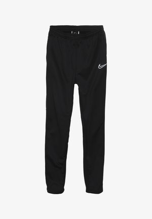 ACADEMY WINTERIZED - Tracksuit bottoms - black/reflective silver