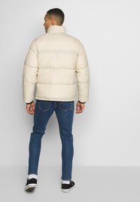 Hollister Co. - PUFFER MOCK BURG - Winter jacket - beige - 2
