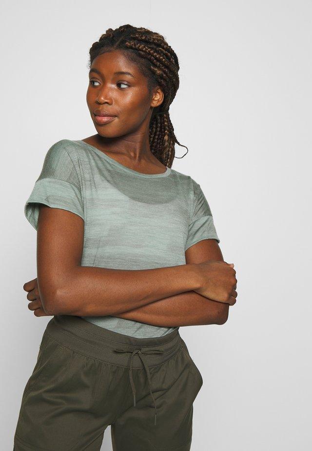 VIA SCOOP - T-shirts med print - shale