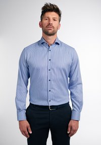 Eterna - LANGARM MODERN FIT - Shirt - blau - 0