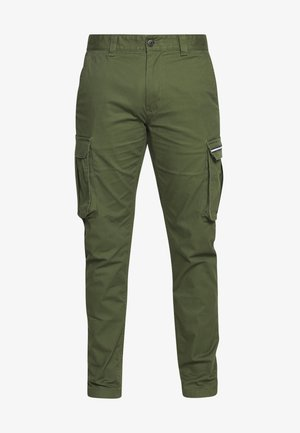 DOBBY PANT - Cargo trousers - cypress