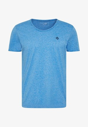 STRUCTURED - Basic T-shirt - water sport blue