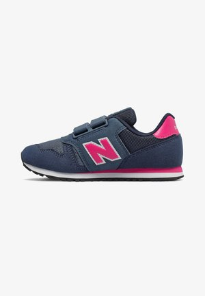Trainers - stone blue/exuberant pink