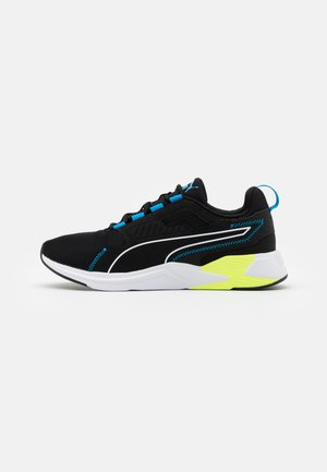 DISPERSE XT MEN - Obuwie treningowe - black/white/energy blue