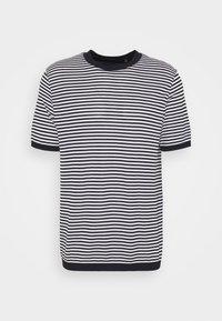 VERAN - Print T-shirt - baltic/white