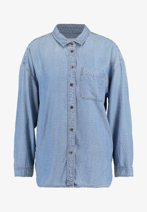 BUTTON DOWN - Camisa - blue denim