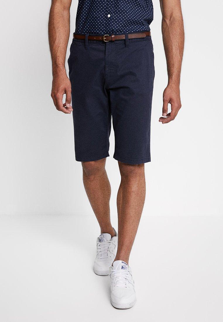 TOM TAILOR - ESSENTIAL - Shorts - parisien night blue