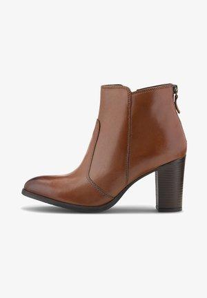 KLASSIK - Classic ankle boots - mittelbraun
