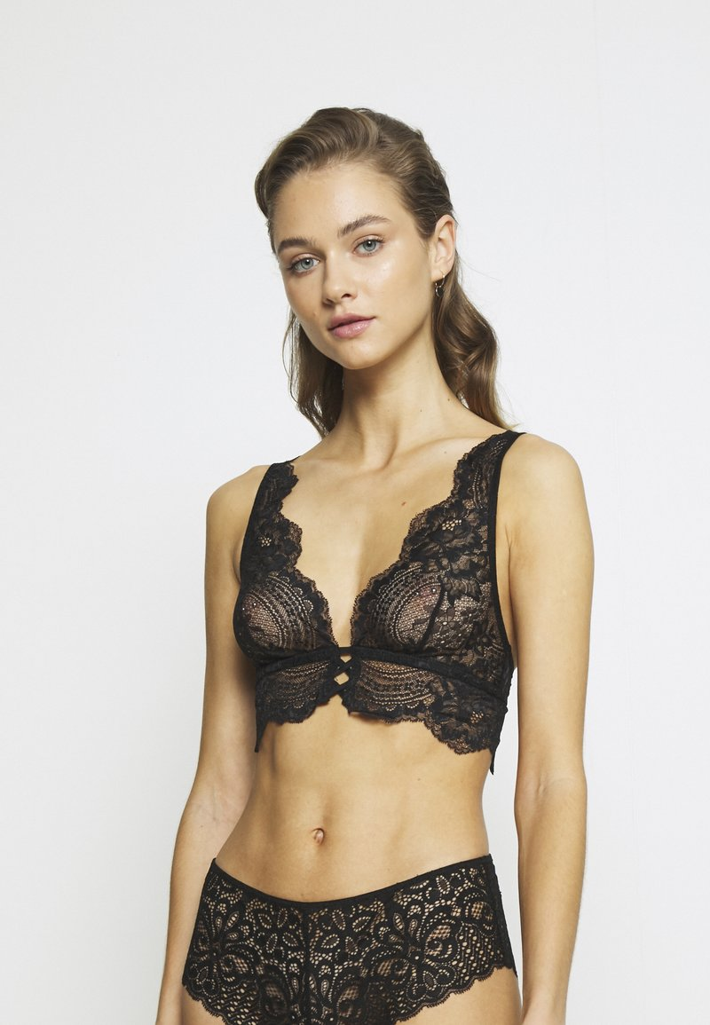 Etam - INK SA  - Triangle bra - noir