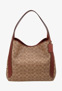 Coach - COATED SIGNATURE HADLEY  - Handbag - tan rust - 5