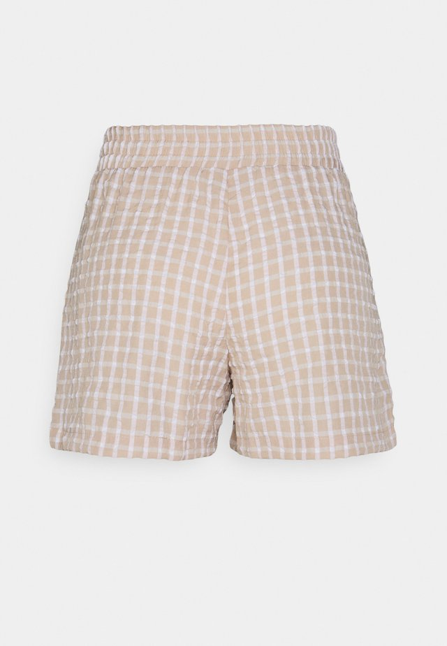NMBELLA - Shorts - crystal gray