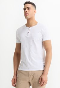 Tiffosi - BRIAN - Print T-shirt - blanc - 0