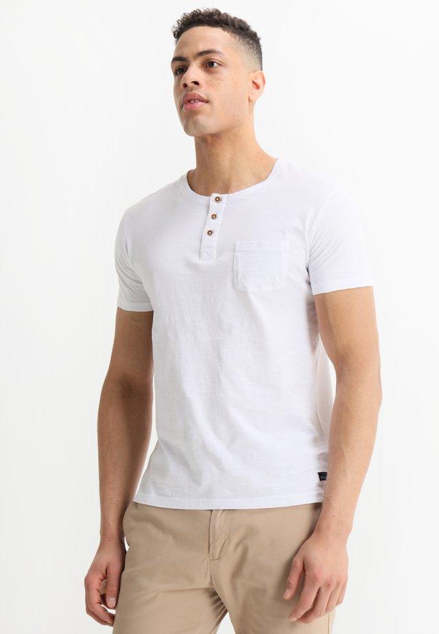 BRIAN - T-shirt print - blanc