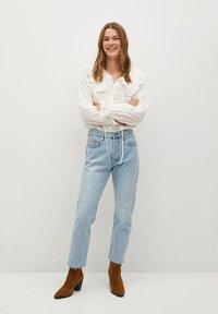 Mango - HAVANA - Straight leg jeans - lichtblauw - 1