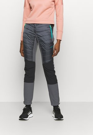 WOMAN PANT - Trousers - graffite