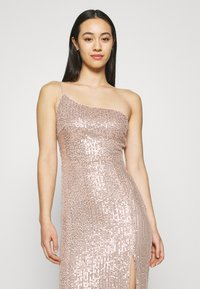 Nly by Nelly - ONE SHOULDER SEQUIN GOWN - Occasion wear - dusty pink - 3