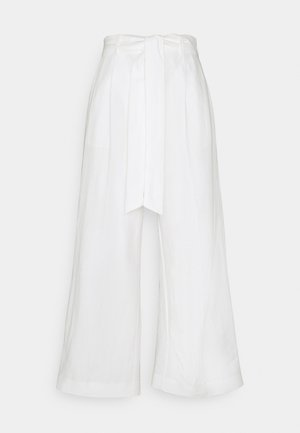 TROUSERS LYKKE NAUTICAL - Trousers - off white
