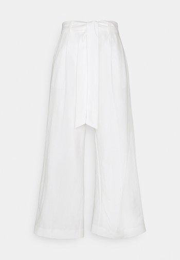TROUSERS LYKKE NAUTICAL - Bukse - off white