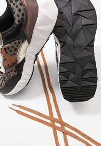 Victoria Shoes - ARISTA ANIMAL PRINT - Trainers - black - 7