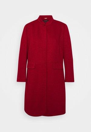 Krátký kabát - deep red