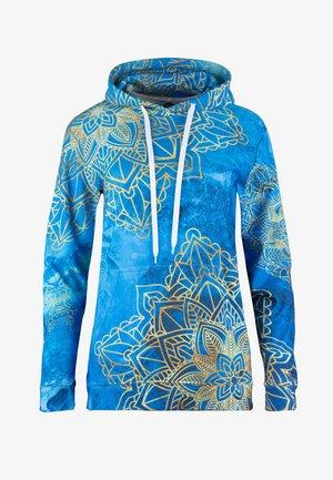 GOLD BOHO  - Sweat à capuche - blue
