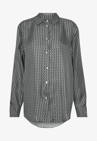 ASCENO - LONDON - Pyjamashirt - grey/black - 5
