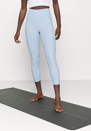 POCKET 7/8 - Leggings - baby blue