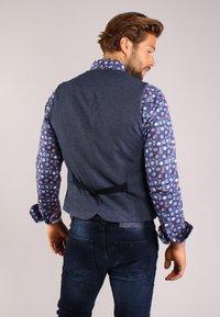 Gabbiano - Suit waistcoat - denim - 2