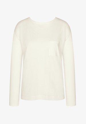 MIX AND MATCH - Pyjama top - silk white