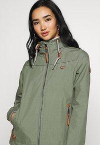 Ragwear - APOLI - Summer jacket - dusty green - 3