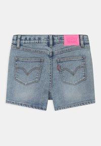 Levi's® - HIGH RISE - Denim shorts - light-blue denim - 1