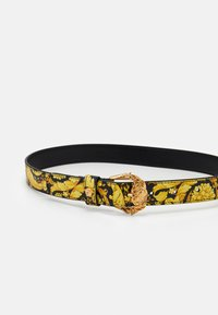 Versace - CINTURA VITELLO - Belt - nero/oro - 2