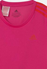 adidas Performance - UNISEX - Print T-shirt - team real magenta/vivid red - 2