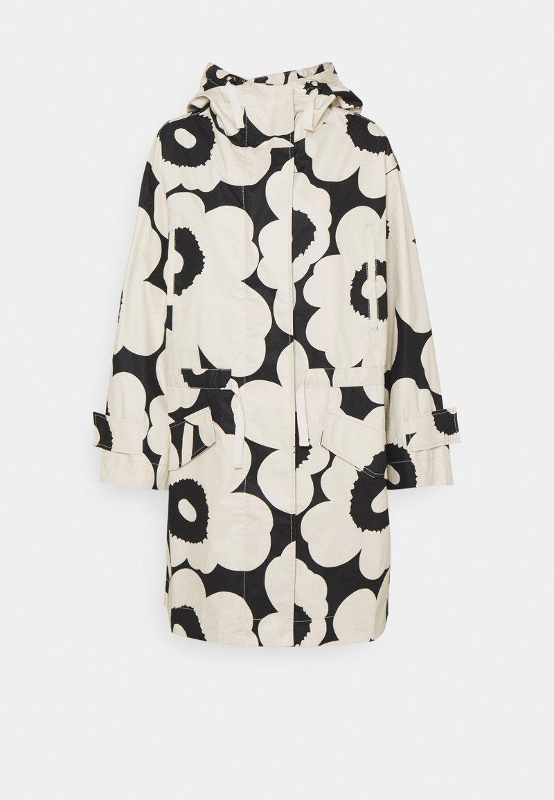 Marimekko - ROHKAISTA UNIKKO COAT - Classic coat - black/off-white