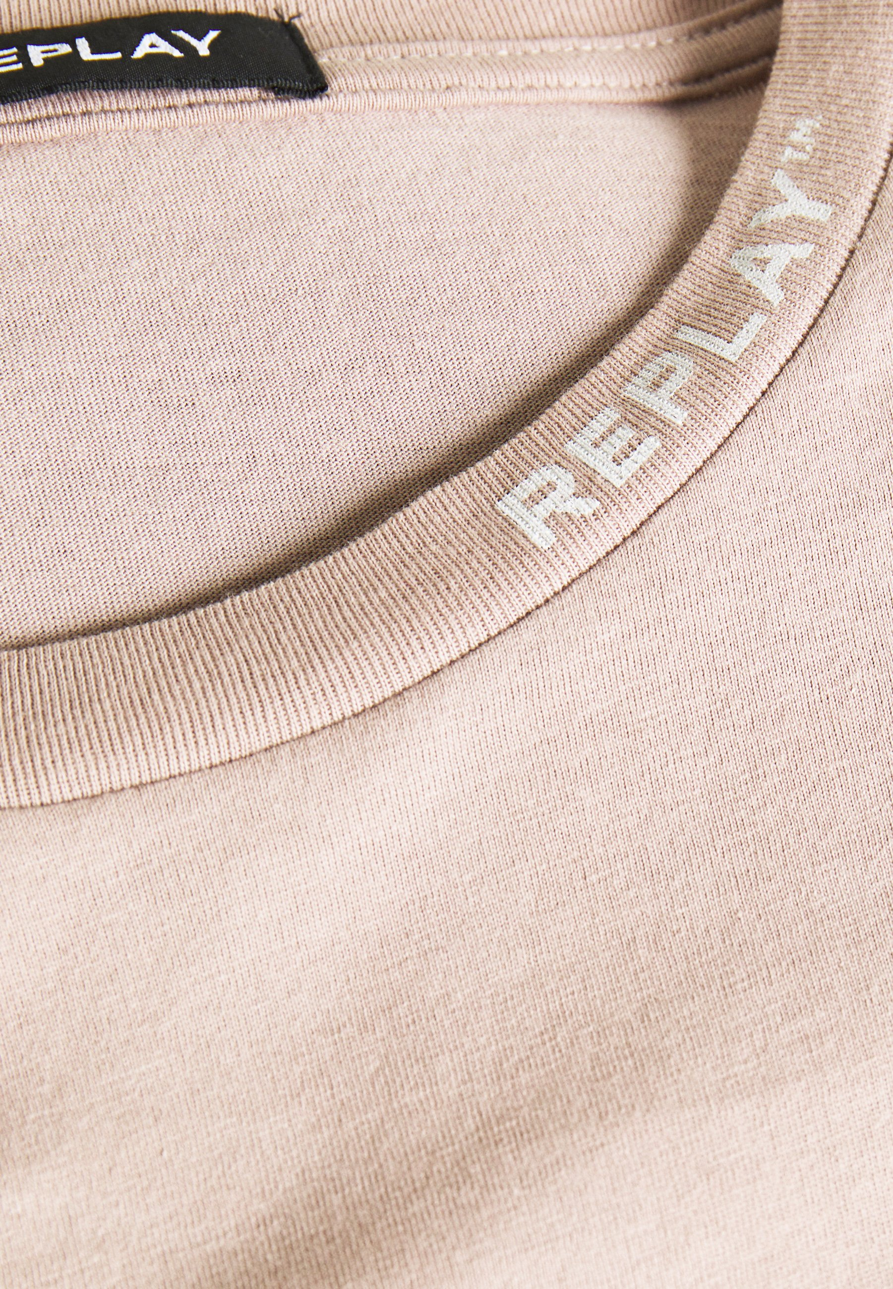 Replay Basic T-shirt - beige EATXH