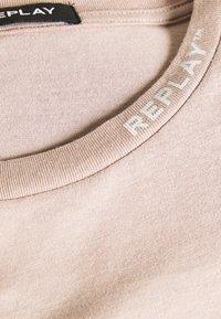 Replay - T-shirt basic - beige - 2