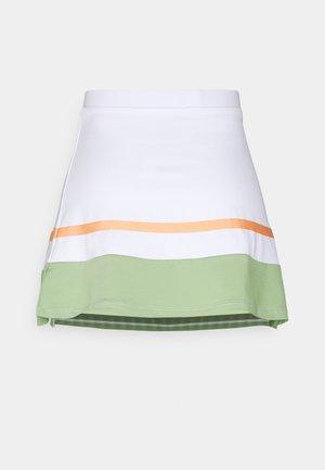 TENNIS SKIRT - Sportovní sukně - white