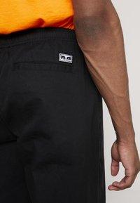 Obey Clothing - EASY PANT - Bukse - black - 4