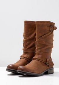 Rieker - Vysoká obuv - nuss - 4