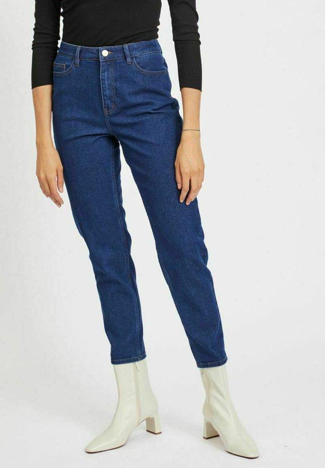 HIGH WAIST - Jeans a sigaretta - medium blue denim
