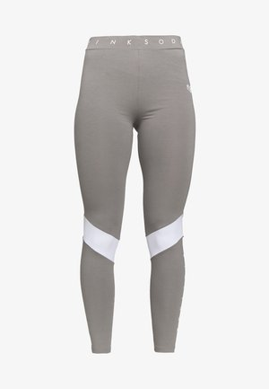ALLURE - Leggings - grey/white