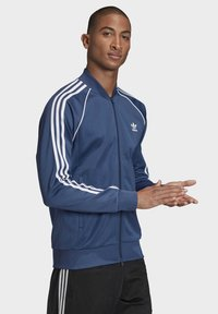 adidas Originals - SST TRACK TOP - Bomberjacke - blue - 2