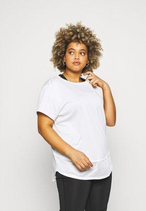 TECH VENT - Basic T-shirt - white