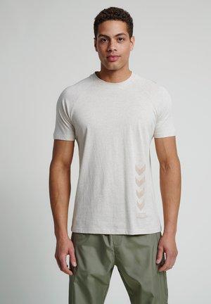 CALEB - T-shirts print - eggnog melange