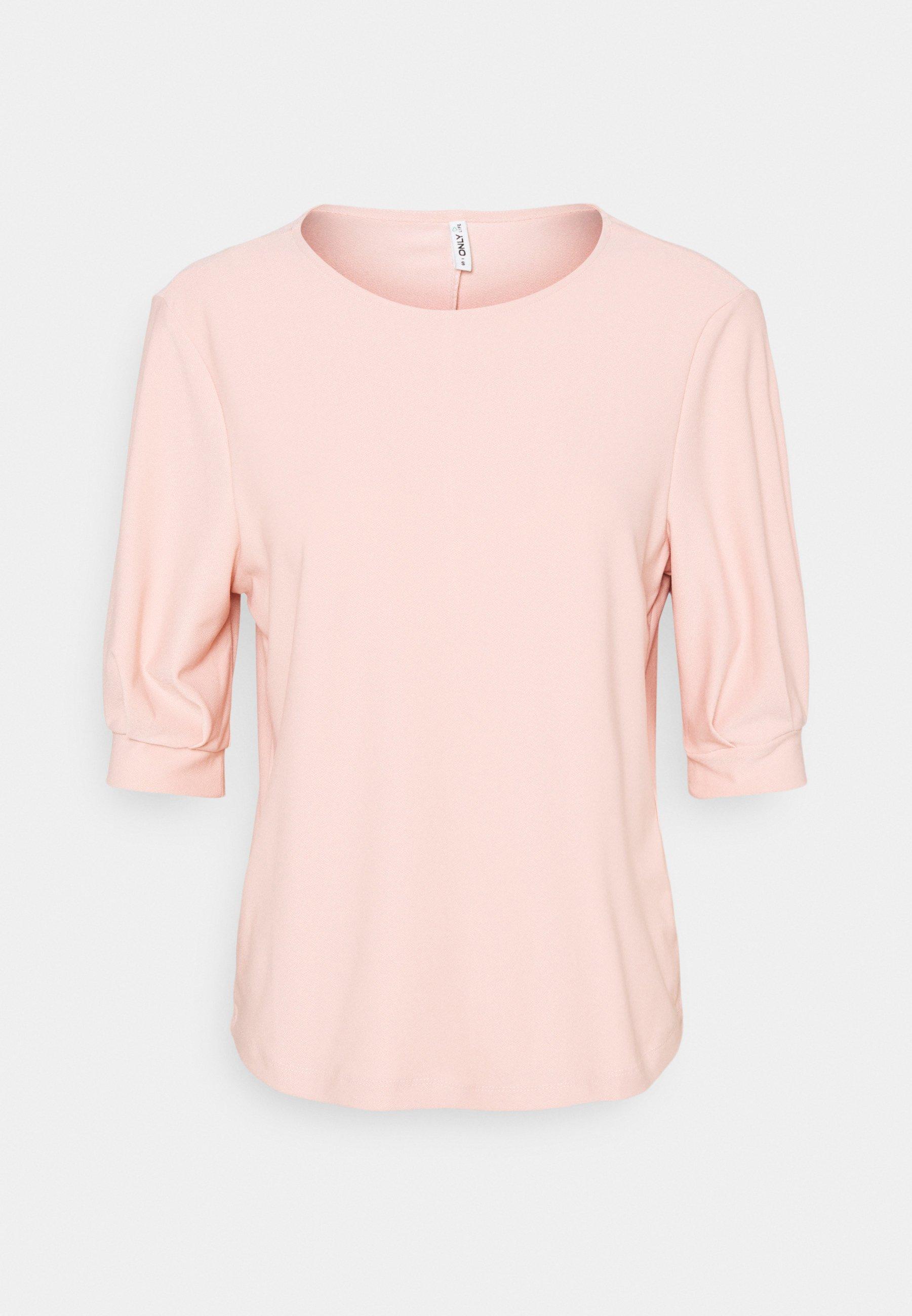 Women ONLJENNY LIFE PLEAT SLEEVE - Basic T-shirt