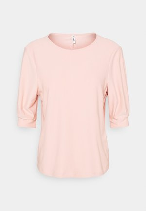 ONLJENNY LIFE PLEAT SLEEVE - Basic T-shirt - misty rose