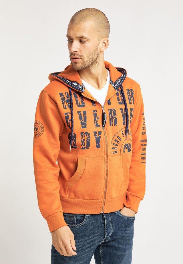 Felpa aperta - orange