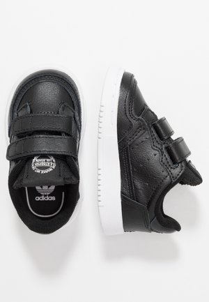 SUPERCOURT CF - Sneakers laag - core black/footwear white